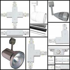 Universal Single Circuit Mains 240v Lighting Track Fitting Spot Light System LED
