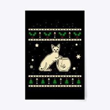 "Unique Christmas Devon Rex Gift Poster - 24""x36"" Gift Poster - 24""x36"""