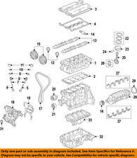 Chevrolet GM OEM 13-18 Sonic-Engine Oil Pan 25194722
