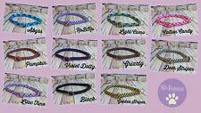 Zugstopp-Halsband, Tauwerk, Rund, 5 Größen, verstellbarer Stopp, 80 Farben °
