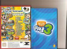 EYETOY PLAY 3 PLAYSTATION 2 PS 2 Eye toy gioco