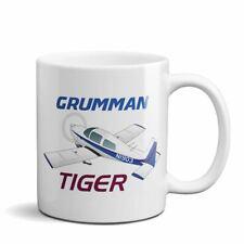 Grumman American Tiger AA1-5B Custom Airplane Ceramic Mug - Personalized w/ N#