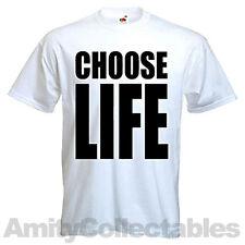 Choisir life [wham] t-shirt trainspotting écran-imprimé, rétro, clubbing, dj