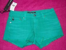 Big Star 1974 Remy Low Rise Shorts, Aqua Green, Sizes 24 thru 29, NWTs