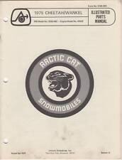 1975 ARCTIC CAT SNOWMOBILE CHEETAH/WANKEL  PART MANUAL