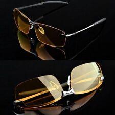 Guida notturna Anti Abbagliamento Vision HD Occhiali prevenzione GIALLO driver Occhiali da sole