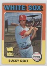 1975 O-Pee-Chee #299 Bucky Dent Chicago White Sox Baseball Card