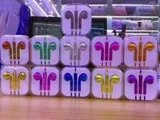 x1, x3 Ecouteurs pour Apple iPhone Earpods chromé, Samsung, HTC, Nokia...