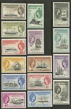Falkland Islands Dependencies  1954  Scott # 1L19 - 1L33 Mint Lightly Hinged Set
