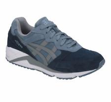 ASICS H838L.4211 GEL-LIQUE Mn's (M) Provincial-Blue/Grey Suede Running Shoes