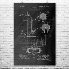 Bezzera Espresso Machine Poster Print Coffee Shop Decor Barista Gift