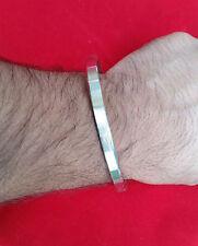 Stunning Stainless Steel Flat Plain Smooth Sikh Kara Punjabi Kada Bracelet SS9