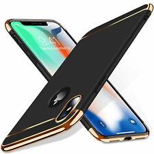 Coque Luxe 3 en 1 Mat Housse Pour Apple iPhone X XS XR Max 8 7 6 S 6 Plus