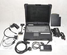 Roda Rocky II+ // Outdoor Laptop mit Zubehör // Akku // KFZ Netzteil // Militär