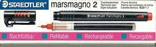 PLUMA STAEDTLER de tinta china MARSMAGNO 2 - 0,6mm CARTUCHO + PUNTA