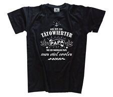 Ich bin ein taetowierter Papa - wie normal - nur cooler T-Shirt Tattoo S-XXXL