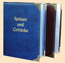 hochwertige RH-Speisekarten.Mappe A5 Made in Germany