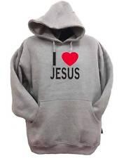 """New printed """"I LOVE JESUS"""" JESUS Heavy Blend Hooded Sweatshirt  Hoodie ALL SIZE"""