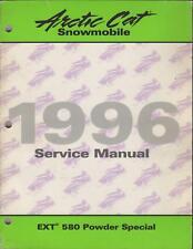1996 ARCTIC CAT SNOWMOBILE EXT 580 POWDER SERVICE