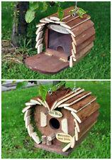 Winter Birds Hanging wooden Squirrel/bird Feeding station Garden Nesting Box