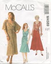 McCalls M4589 Misses Wrap Tops & Bias Skirt Sewing Pattern