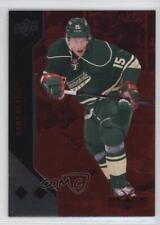 2011 Upper Deck Black Diamond Ruby #112 Dany Heatley Minnesota Wild Hockey Card
