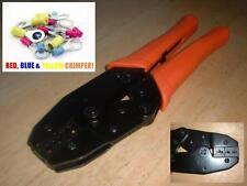 Elektriker Pro Ratschenschlüssel Crimpzangen Zange 4 Rot Blau Gelb