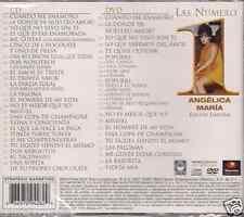 cd & DVD PROMO ONLY CLIPS 80's ANGELICA MARIA cuando me enamoro LA PAREJA IDEAL