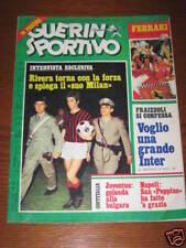 RARO GUERIN SPORTIVO 1975 / 37 GIGI RIVA GIANNI RIVERA IVANHOE FRAIZZOLI INTER