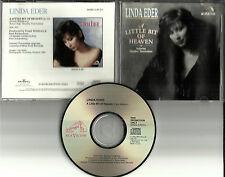 LINDA EDER w/ Stanley Turrentine A Little Bit of Heaven 1991 PROMO DJ CD Single