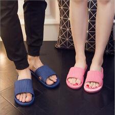 Non-slip Beach Shower Sandals Home Bath Slippers Women Men Shoes