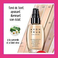 FOND DE TEINT APAISANT et ILLUMINANT Avon Calming Effects - couvrance moyenne