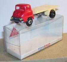 Micro Toy Eko Toyeko Ho 1/86 1/87 Spain Truck Ford Thames Plateau Nude Ref 2091