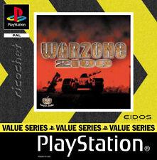 Play Station Spiel PS1 Warzone 2100 mit Anleitung Zustand OK + OVP