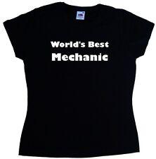 World's Best Mechanic Ladies T-Shirt