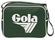 Gola Redford Bottle Green White Unisex Messenger Shoulder Bag