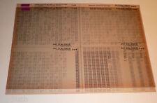Microfich Ersatzteilkatalog Toyota Land Cruiser BJ, HZJ, LJ, PZJ, R St. Juli 91