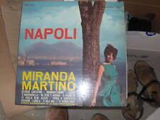 LP MIRANDA MARTINO NAPOLI RCA  1963 ITALY MORRICONE EX/EX+
