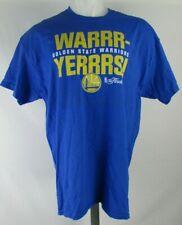 Golden State Warriors NBA Women's Short Sleeve Blue Graphic T-Shirt