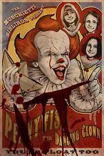 Stephen King IT Movie Poster Print T941  A4 A3 A2 A1 A0 