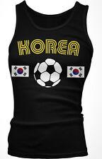 Korea Korean National Country Pride Chollima Football Soccer Boy Beater Tank Top
