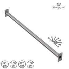 Pull-up Bar Uitrekstang, roestvrij staal, 90 - 150 cm, KÖNIGSPROD