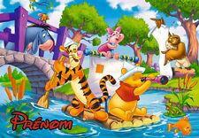 Puzzle Winnie L'Ourson V5 Disney personnalisé avec prénom