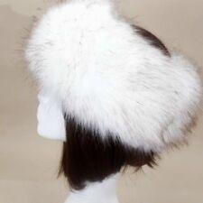 Da Donna Finto Volpe Cappello di Pelliccia Inverno Outdoor Fascia Stile  Russo 32cfa14a3b1f