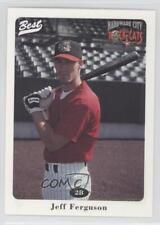 1996 Best Hardware City Rock Cats #12 Jeff Ferguson Rookie Baseball Card
