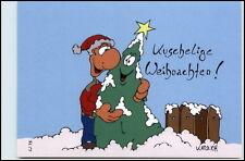 Kuschelige Weihnachten Frohes Fest Christmas Ungelaufen Karrich Figur