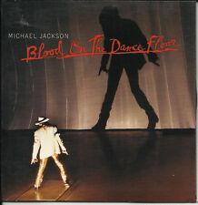 MICHAEL JACKSON Blood Dance Floor / Dangerous 4TRX EDITS Sleeve USA CD Single