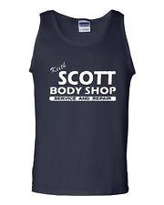 Keith Scott One Tree Hill Body Shop North Carolina TV Novelty Adult Tank Top