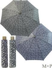 M&P Taschen-Schirm Mini Regenschirm stabil Auf-Zu-Automatik Striche