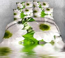 Wild Chrysanthemum 3D Printing Duvet Quilt Doona Covers Pillow Case Bedding Sets